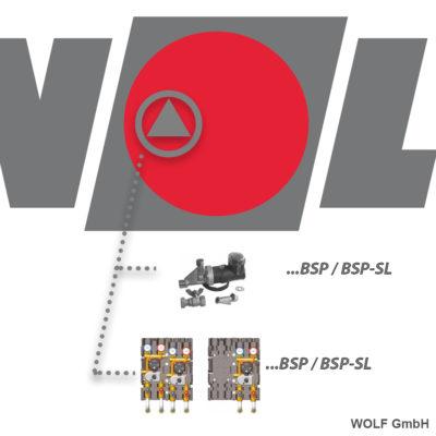Аксесоари-Буферни съдове WOLF Germany